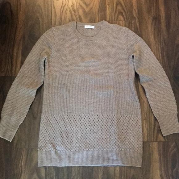 Equipment Sweaters - Equipment Tan Sweater